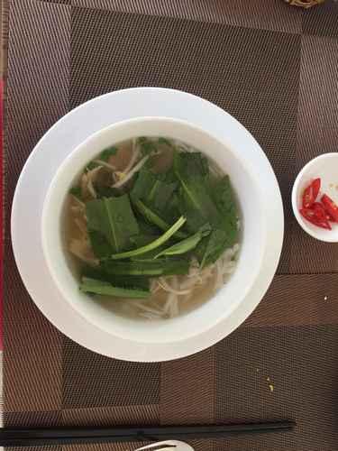 Một số món ăn tại DTX Hotel Nha Trang