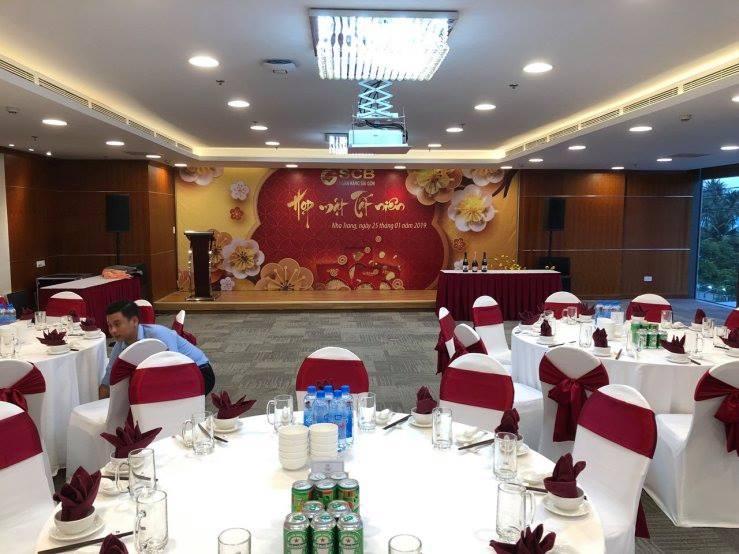 Một không gian tổ chức sự kiện tại COMODO Nha Trang